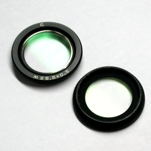 ZENITAR Ø 26,5 x 0.5 mm Filtro UV MC  per 16 mm f 2,8 ottica  Russa