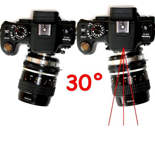 micro 4/3 adapter BASCULANTE x Contax Leica Pentax Olympus Canon ecc. tilt lens