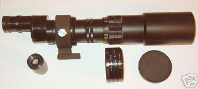 Cannocchiale diaframmabile prismatico ad oculari intercambiabili 31,8