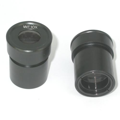 Coppia di oculari 10X per microscopio con diametro portaoculare di 30mm