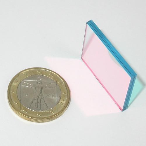 FILTRO COMPOSITO INTERFERENZIALE  IR - UV pass