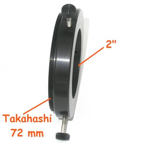 Anello Riduttore per  Telescopio Takahashi a oculari 2 `` ( 50,8 mm )