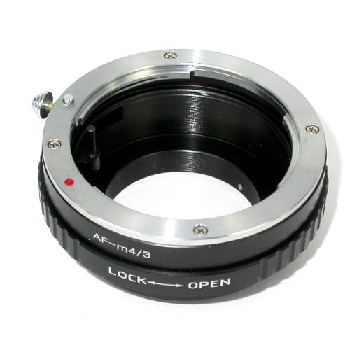 micro 4/3 Olympus Lumix Panasonic anello raccordo a obiettivo SONY / Minolta AF