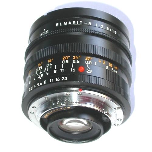 MODIFICA  obiettivo  LEICA ELMARIT R  19 mm 1:2.8 per usarlo su Canon eos 5D