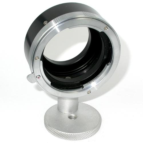 micro 4/3  anello raccordo a obiettivo LEICA R con attacco per cavalletto