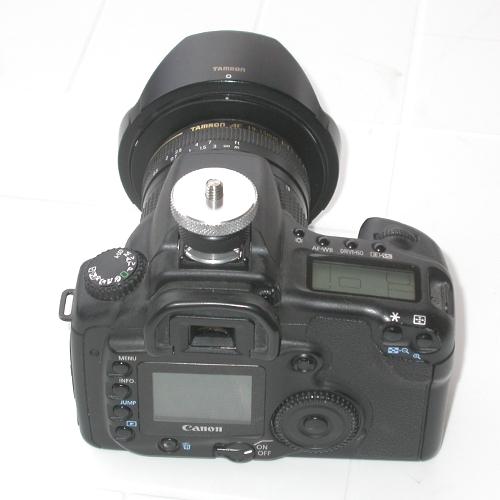 Raccordo per slitta porta flash a filetto classico cavalletto fotografico