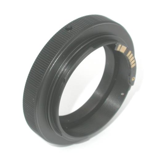 Canon EOS  Anello T2 con Microchip / ring adapter EOS raccordo EF