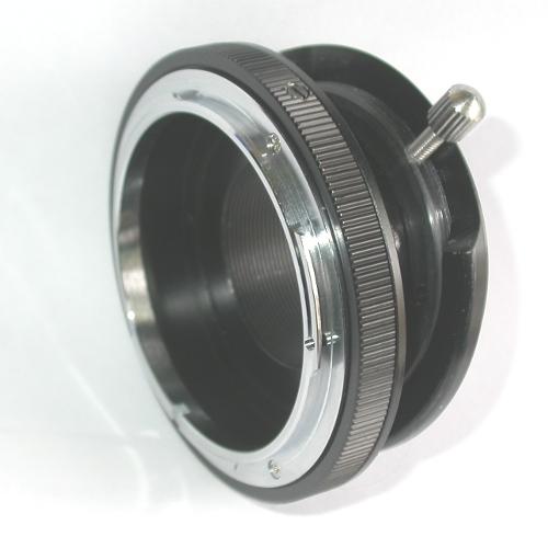 micro 4/3 adapter BASCULANTE MACRO x ottiche Canon FD  tilt lens versione macro
