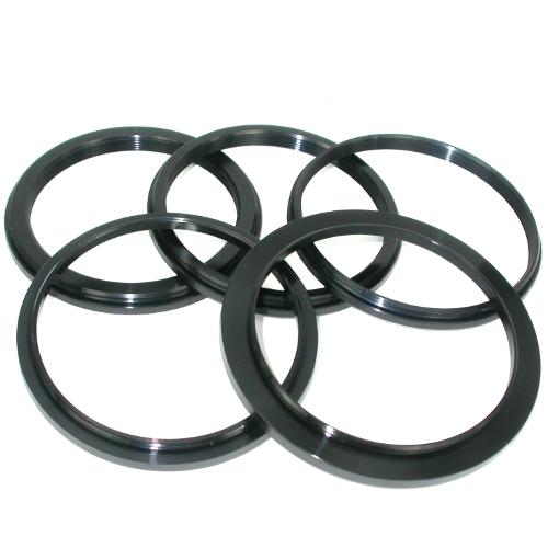 Anello riduzione filtri per ottiche Ø 62 mm a Ø 52, 55, 58, 62, 67, 72, 77, 82