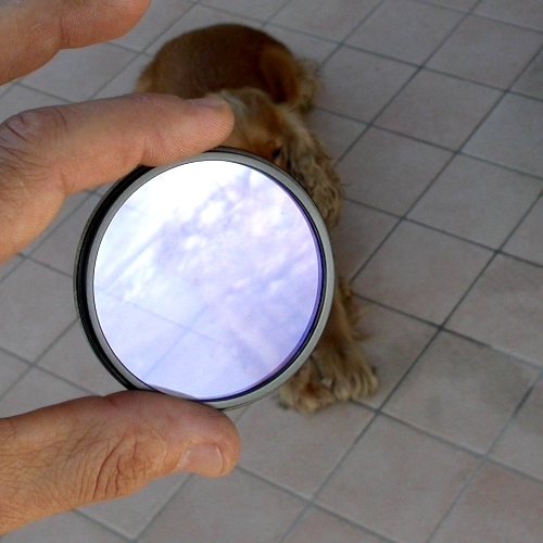UV ultravioletto filtro in vetro ottico di qualità con trattamento MC H Ø  30mm