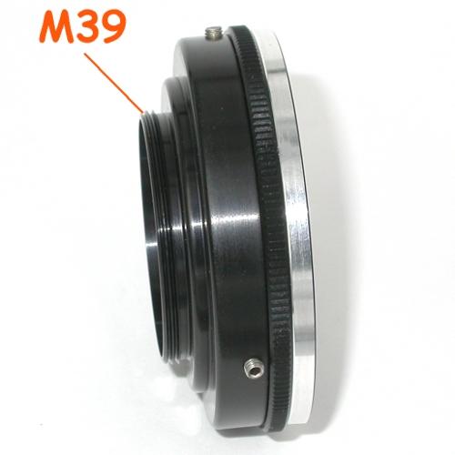 Leica Zorki, Fed, Canon, Woitglander M39  a lens M42 (42x1) raccordo adattatore