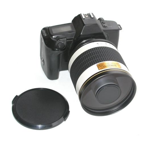 Obiettivo tele 500mm F6.3 disponibile per Nikon Canon Sony Pentax Micro 4/3 ecc.