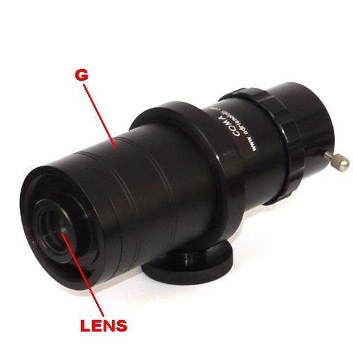 Telecinema, Obiettivo Super MACRO a rapporto zoom per telecamera CCTV passo S
