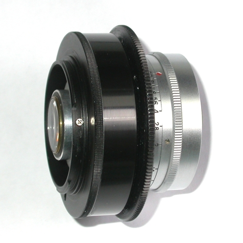 MODIFICA  obiettivo ZUNOW - ELMO  f = 38 mm 1: 1,1 a fotocamere micro 4/3
