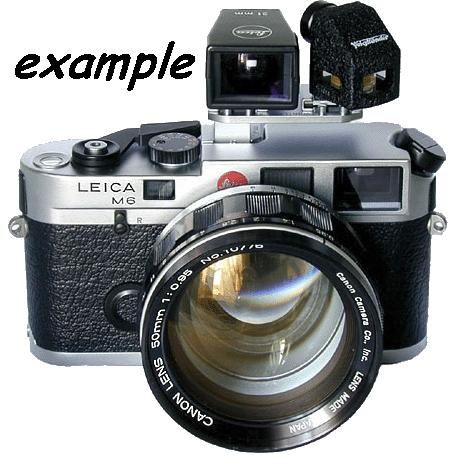 MODIFICA obiettivo Canon 7 ( telemetro ) focale 50 mm f 0,95 a camera Leica M