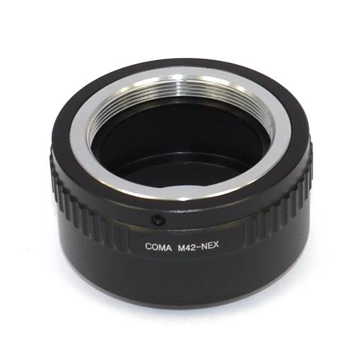 SONY NEX  ( E mount ) adattatore raccordo per ottiche M42 ( 42x1 )
