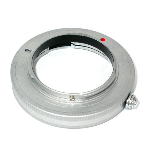 micro 4/3 Olympus Lumix Panasonic raccordo silver a obiettivo Leica M adattatore
