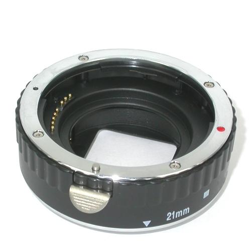 Canon eos EF tubo di prolunga per foto MACRO L= 21 mm con trasmissione elettrica