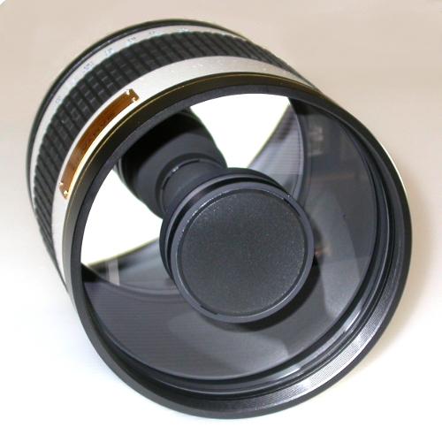 Obiettivo tele 800mm F8 disponibile per Nikon Canon Sony Pentax Micro 4/3 ecc.