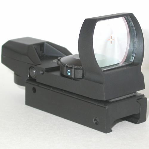 Cercatore Puntatore rapido olografico per telescopio con supporto di fissaggio