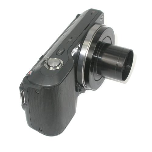 Sony NEX E mount RACCORDO diretto 30 mm per FOTO MICROSCOPIO microscope