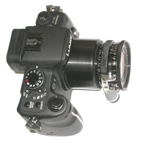 micro 4/3 anello raccordo a innesto ARRIFLEX con terminale AATON 16mm