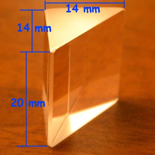 PRISMA OTTICO Angolo retto 90° - Right angle prism 90°