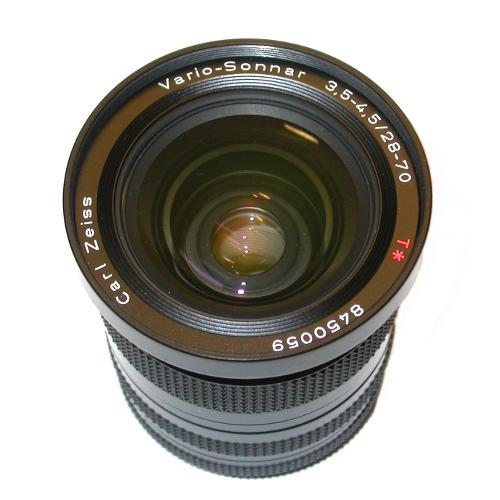 MODIFICA  obiettivo  Vario - Sonnar 3,5-4,5 / 28-70 per usarlo su Canon eos 5D
