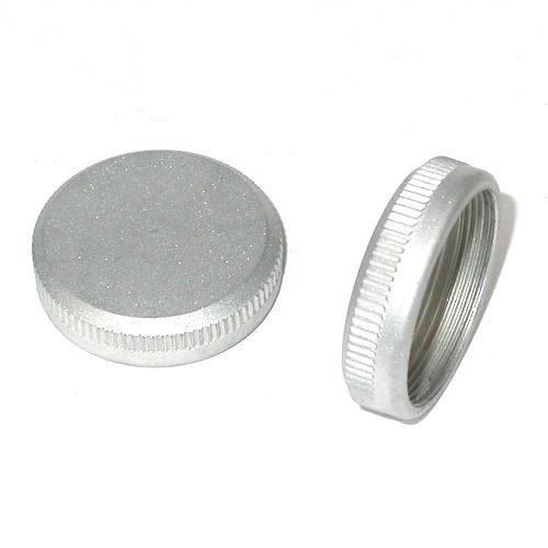 Lens c / cs mount lens cup Tappo retro obiettivo in metallo rear lens cap metal