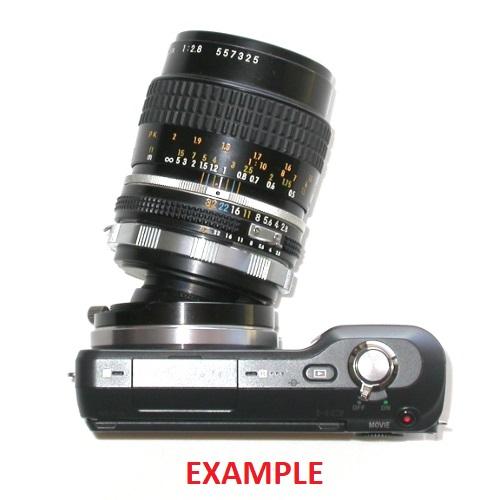 Sony NEX E mount adapter BASCULANTE x Contax Leica Pentax Olympus ecc. tilt lens