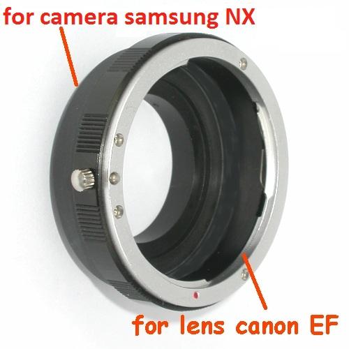 Samsung NX anello raccordo a obiettivo Canon eos EF