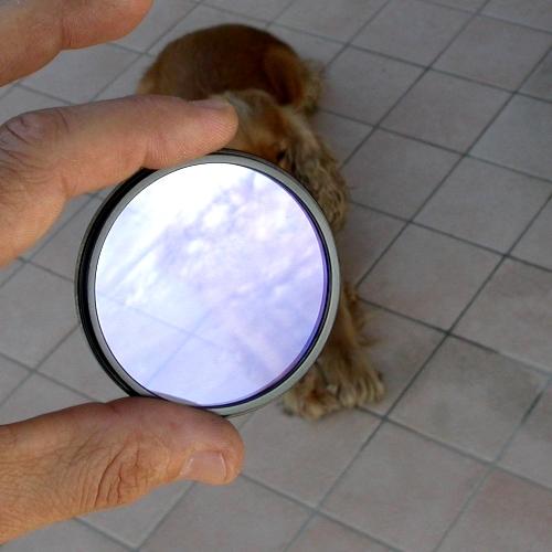 UV ultravioletto filtro in vetro ottico di qualità con trattamento MC H Ø  46mm