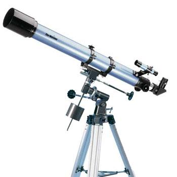 Telescopio rifrattore sky WATCHER  Ø 70mm focale 900 con montatura equatoriale