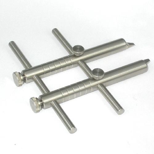 Giravite chiave a compasso taglio reversibile interno esterno L3 in acciaio INOX