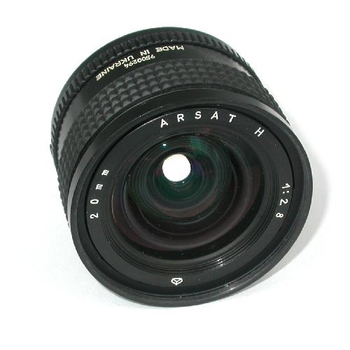 Obiettivo grandangolare ARSAT 20 mm  f = 1: 2.8 con attacco NIKON AI s