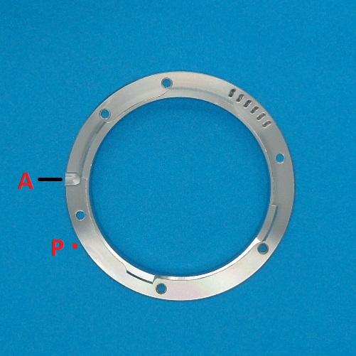 6 Bit LTM Codice M39 50-75 custom per obiettivo LEICA con 6 fori