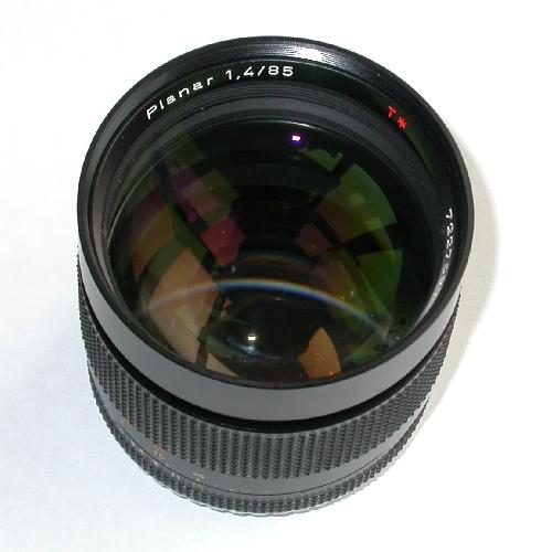 MODIFICA obiettivo Contax Planar 85 1.4 x compatibilità su Canon eos Full Frame