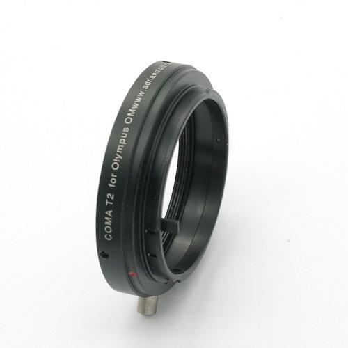 Olympus OM anello raccordo T2 adapter ring T 2  adattatore
