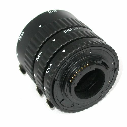 Nikon AF Set tubi prolunga ECO per foto MACRO  con trasmissione elettrica