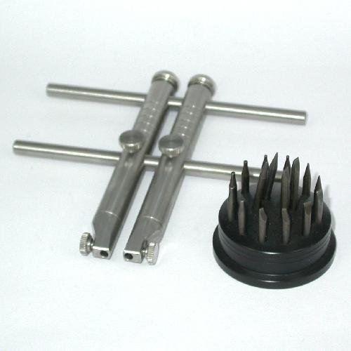 Giravite chiave a compasso professionale inserti intercambiabili in acciaio INOX