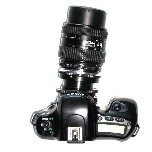 NIKON raccordo BASCULANTE ROTANTE APO per obiettivi Nikon, tilt lens adapter