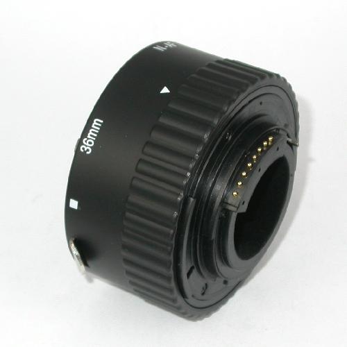 Nikon AF tubo di prolunga ECO per foto MACRO L= 36 mm con trasmissione elettrica