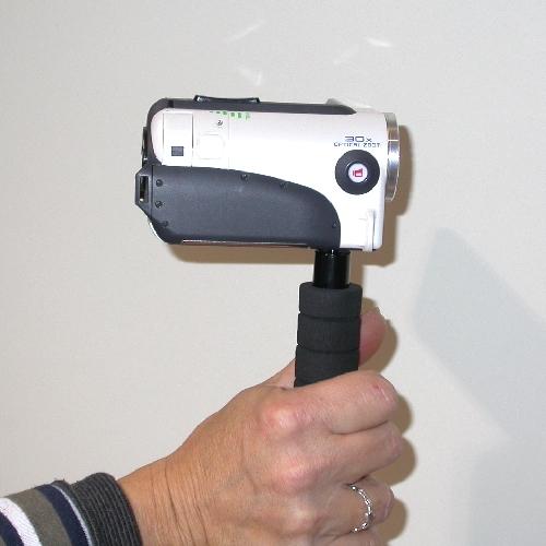 Impugnatura Supporto per videocamera, telecamera, fotocamera