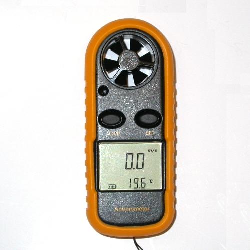Anemometro termometro digitale professionale portatile