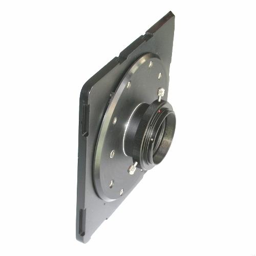 MODIFICA piastra banco ottico FATIF per utilizzare fotocamere reflex DSRL/SRL