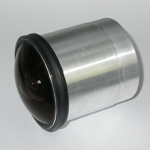 Obiettivo a proiezione  fisheye