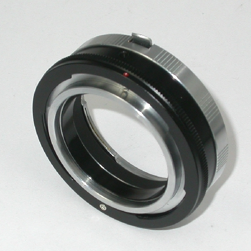 CANON FD manual focus Raccordo MACRO per utilizzare ottiche innesto Nikon