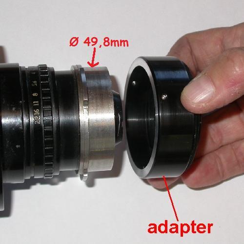 micro 4/3 Olympus Lumix Panasonic anello raccordo eco a obiettivo AATON 16mm