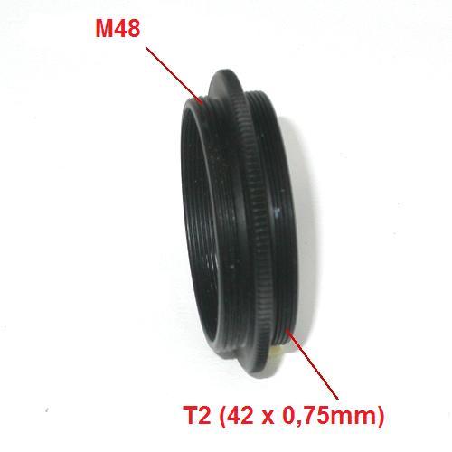 Anello di giunzione macro maschio maschio T2 / M48