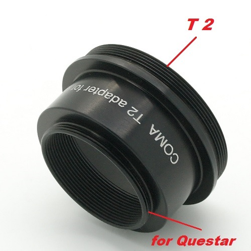 QUESTAR adattatore T2 TELESCOPIO T ADAPTAL Telescope